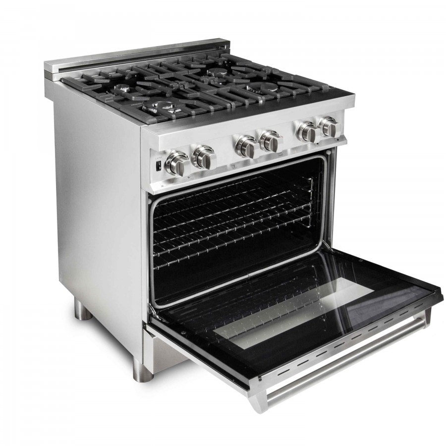 4 Gas Burner Electric Oven Range Ra30