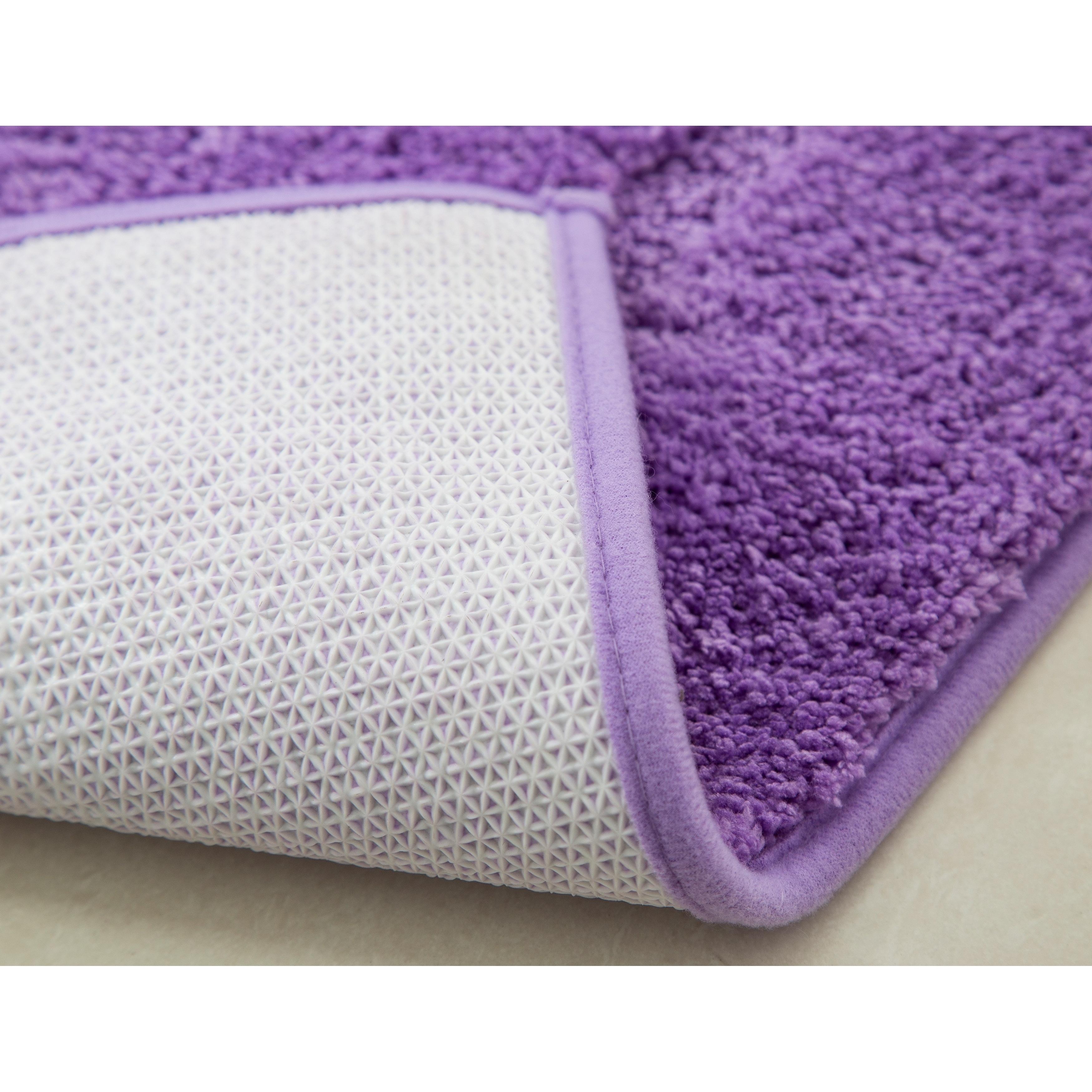 grey furnishings more purple mat views bath home mats