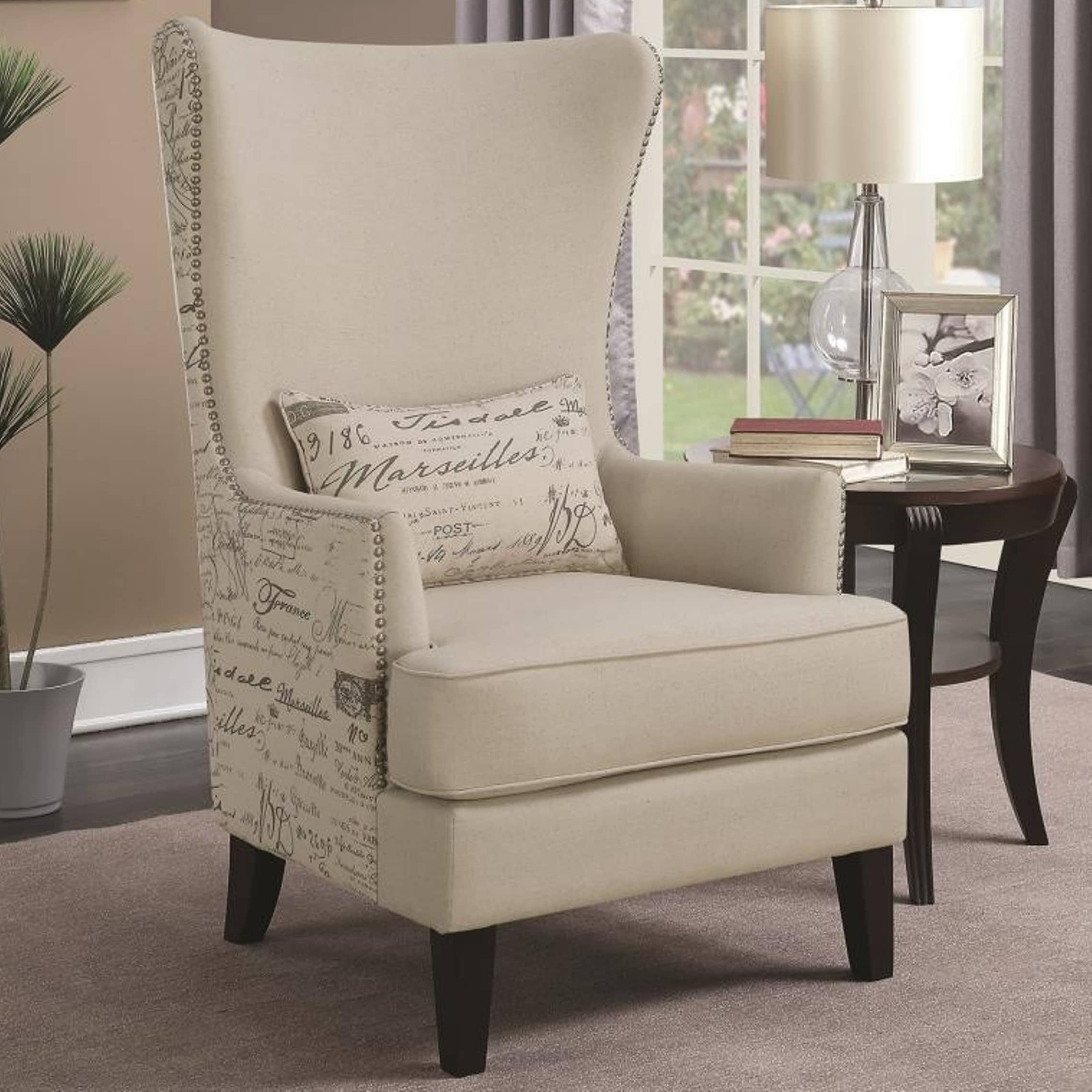 Amazing High Back Accent Chairs Style