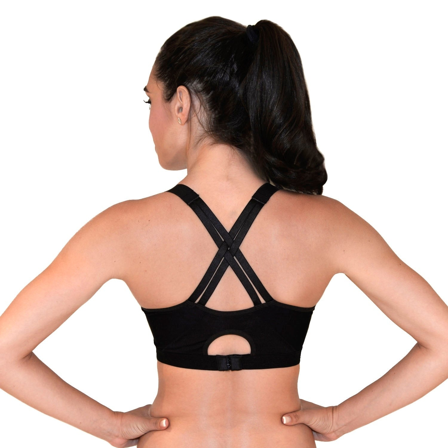 c338909239 Shop RBX Zip Front Adjustable Sports Bra Bra - Free Shipping On Orders Over   45 - Overstock - 17183885