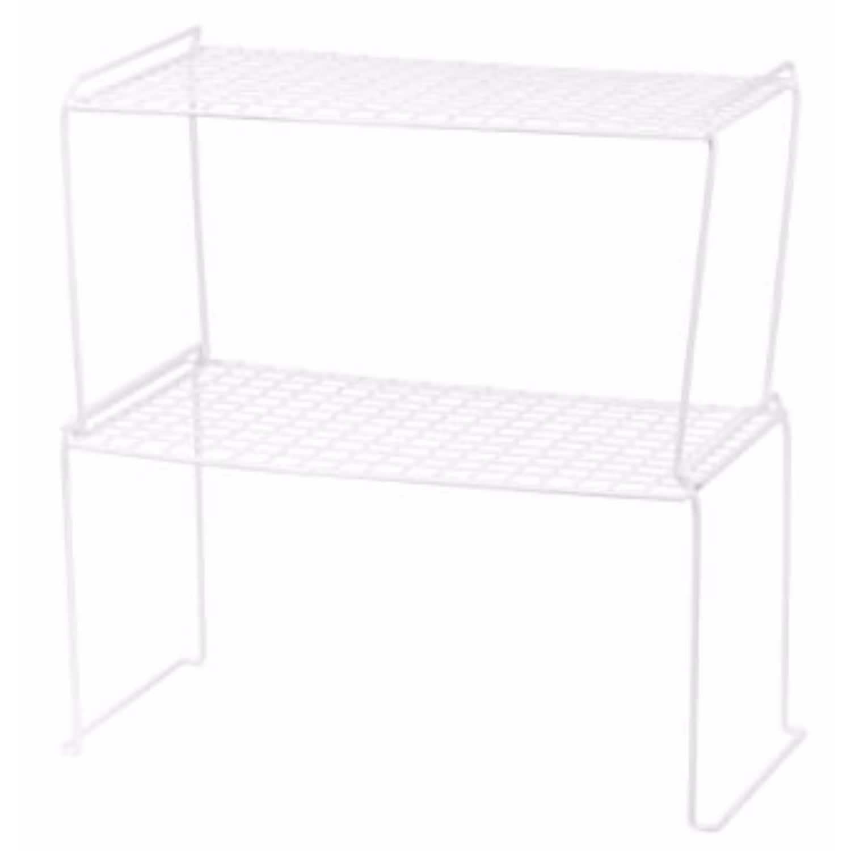 Wire Stacking Shelves | Shop Iris White Heavy Duty Wire Stacking Shelves Set Of 6 Free