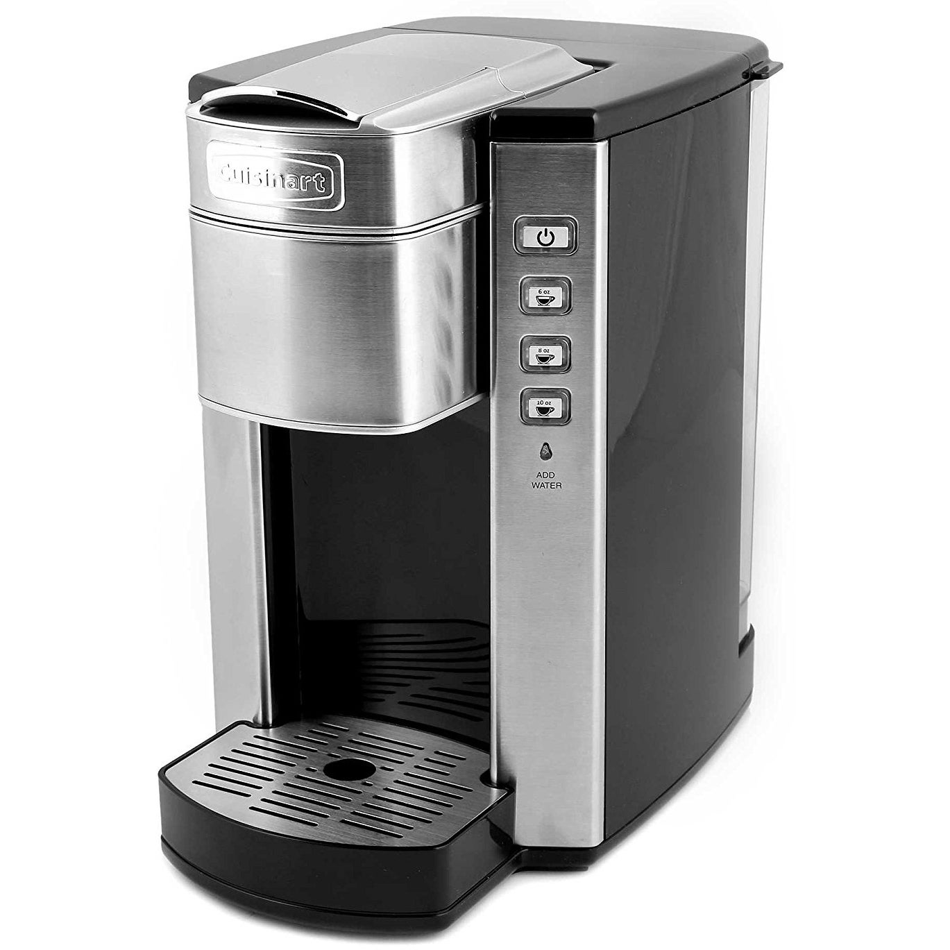 Shop Cuisinart Ss 6 Compact Single Serve Coffee Maker Brushed