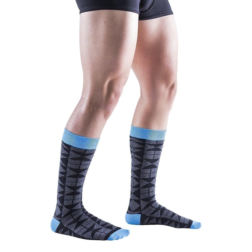 09b259c2af Shop 12 Pairs of Colorful Patterned Mens Dress Socks Pack, Colored Stripes  Pattern Men Bulk Sock Fashion Designs - Ships To Canada - Overstock -  17215182