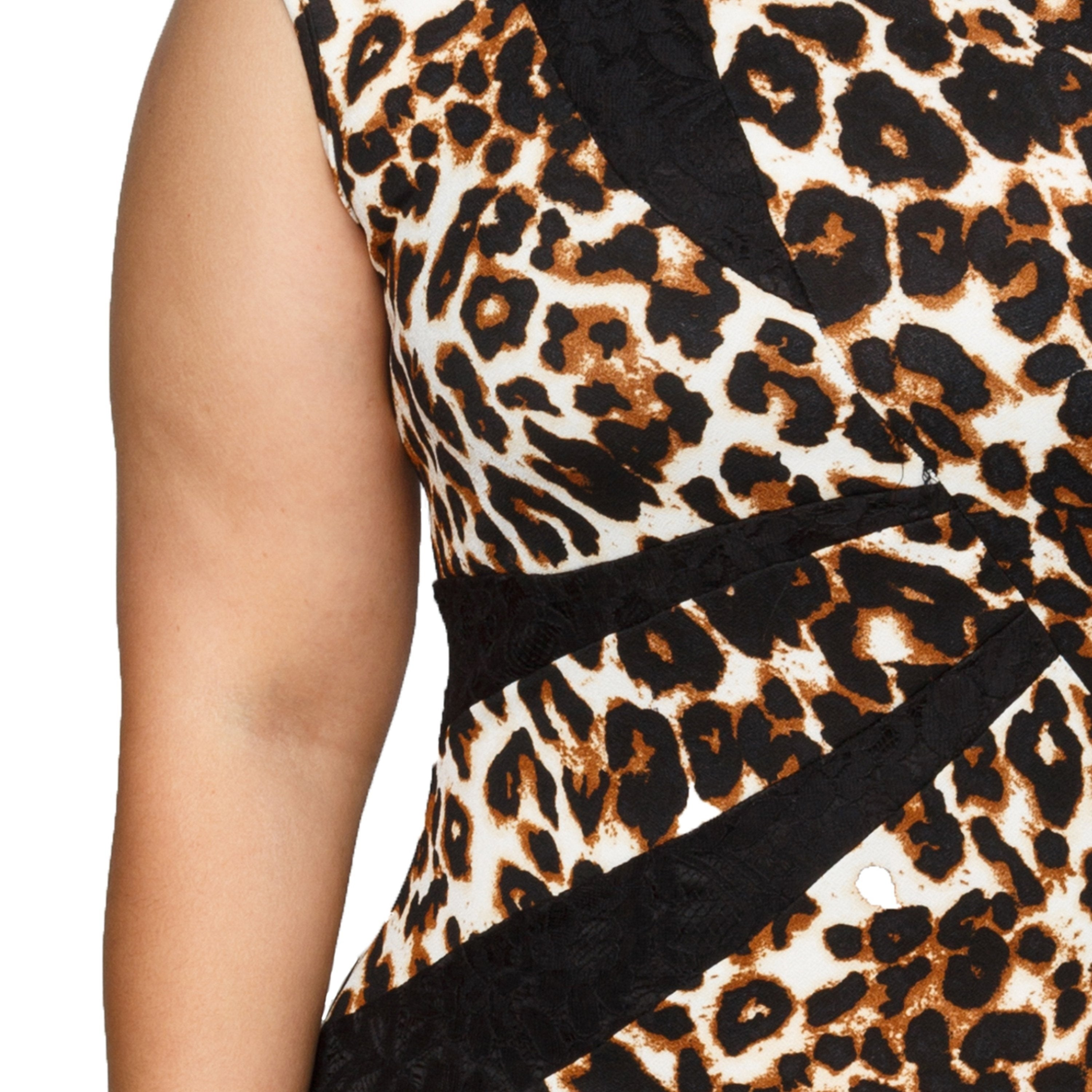 a6055330822 Shop Xehar Womens Plus Size Leopard Print Bodycon Sexy Dress - Free  Shipping On Orders Over  45 - Overstock - 17239122