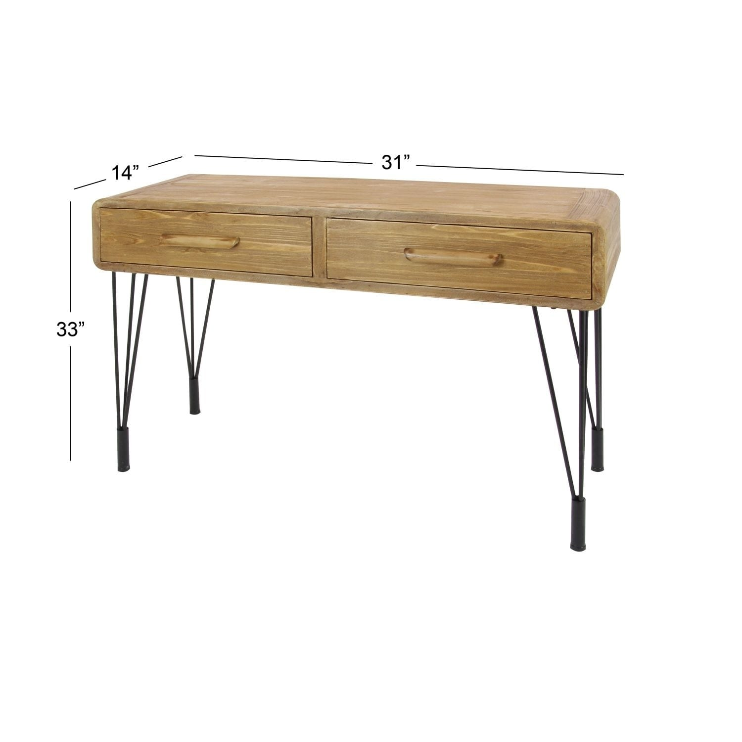 Studio 350 Wood Metal Console Table 45 Inches Wide 30 High Free Shipping Today 17240633