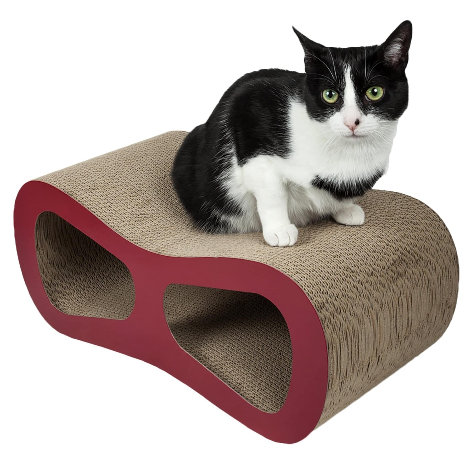 Shop Pet Life Modiche Ultra Premium Modern Designer Lounger Cat Scratcher    On Sale   Free Shipping Today   Overstock.com   17284270