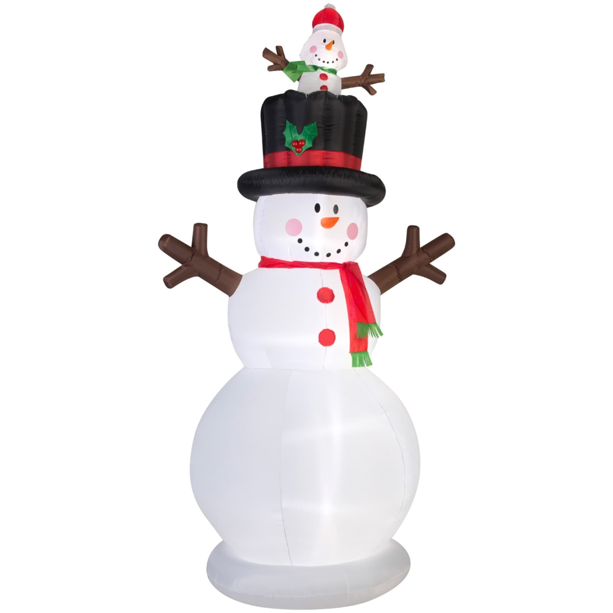 Shop Christmas Airblown Inflatable Snowman w/Pop-up Baby Snowman ...