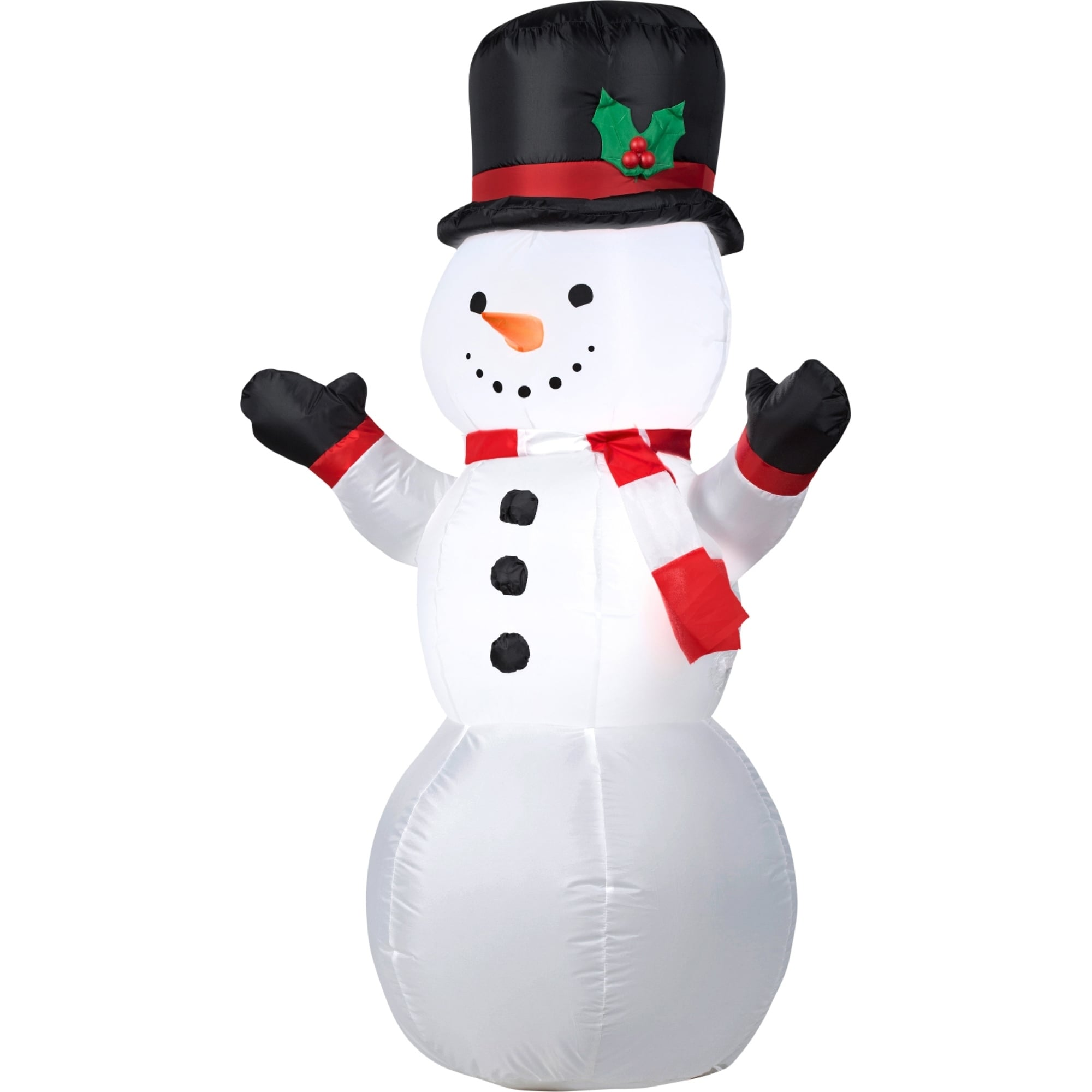 Shop Christmas Airblown Inflatable Outdoor Snowman - Free Shipping ...