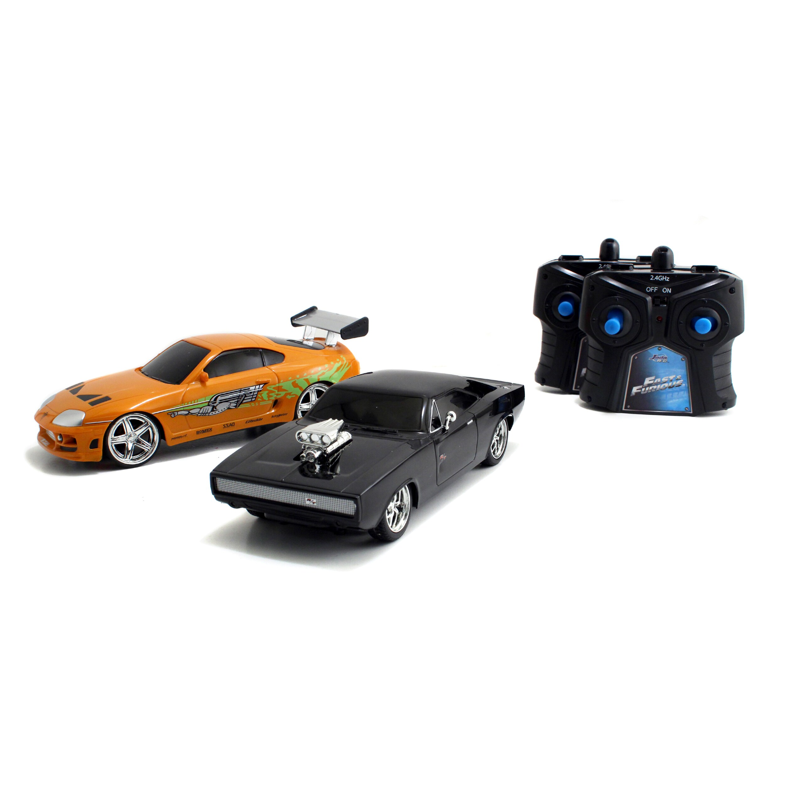 Fast and Furious RC Toyota Supra and Dodge Charger Set Free