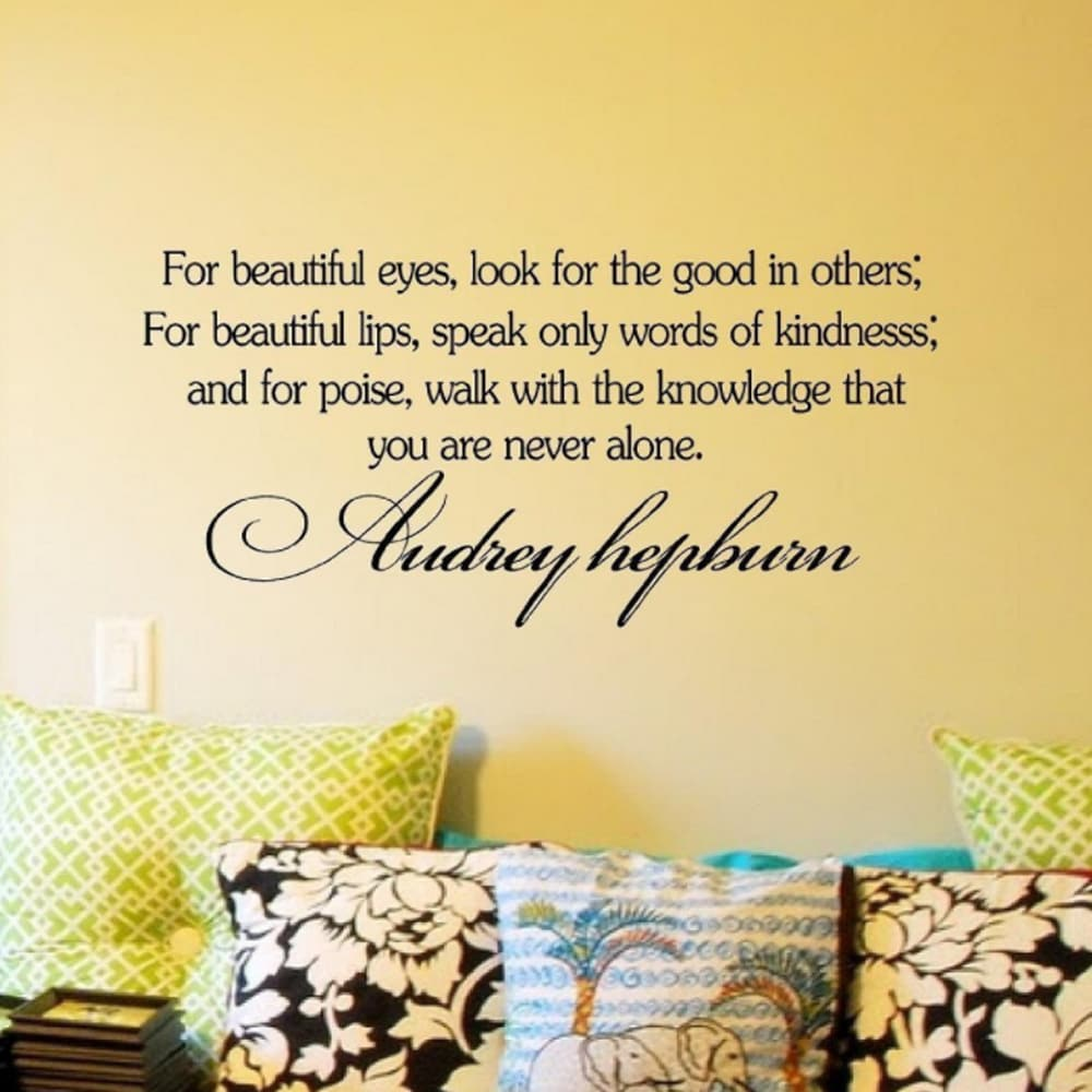 Shop Audrey Hepburn Inspirational Quotes - On Sale - Ships To Canada ...