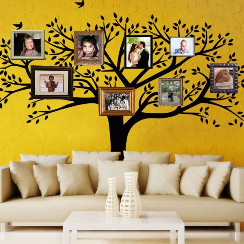 Shop Giant Family Photo Tree Wall Decals - Ships To Canada ...