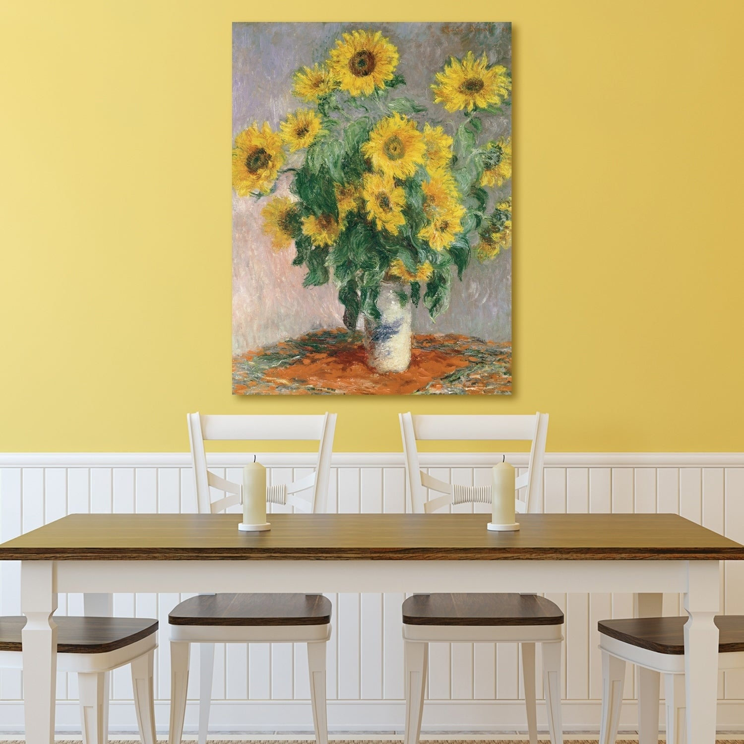 Shop Portfolio Canvas Decor Sunflowers Canvas Wall Art - Free ...