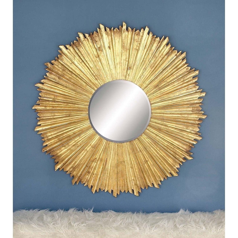 Beautiful Abbyson Living Sunburst Round Wall Mirror Adornment - The ...