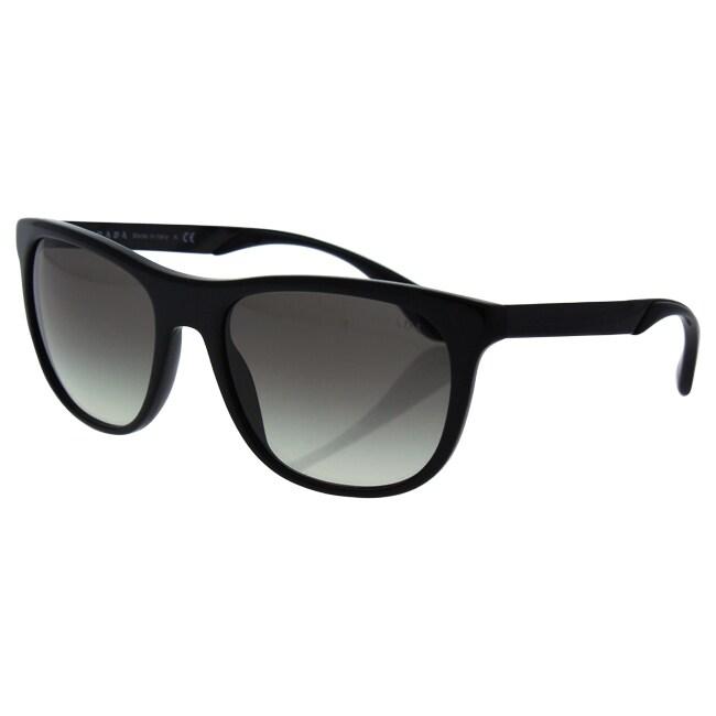5e406066ca04a ... coupon code for shop prada spr 04s 1ab 0a7 unisex black grey gradient  sunglasses free shipping