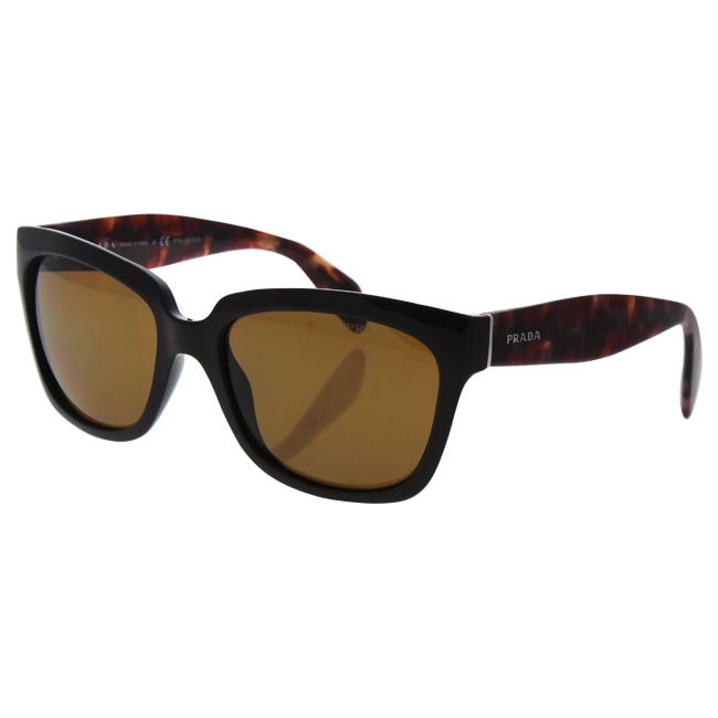 ed6987c06dd reduced shop prada spr 07p dho 5y1 womens brown brown polarized sunglasses  free shipping today overstock
