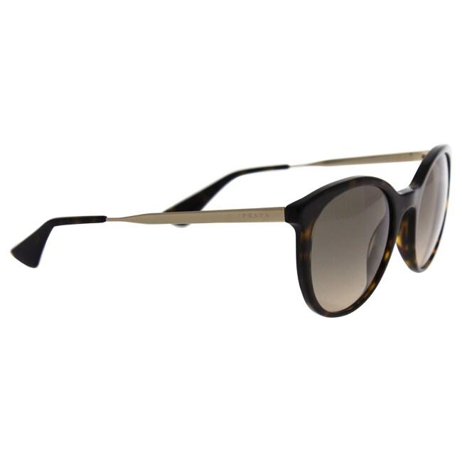 0c2c8b7521295 ... czech shop prada spr 17s 2au 3d0 womens havana brown gradient sunglasses  free shipping today overstock