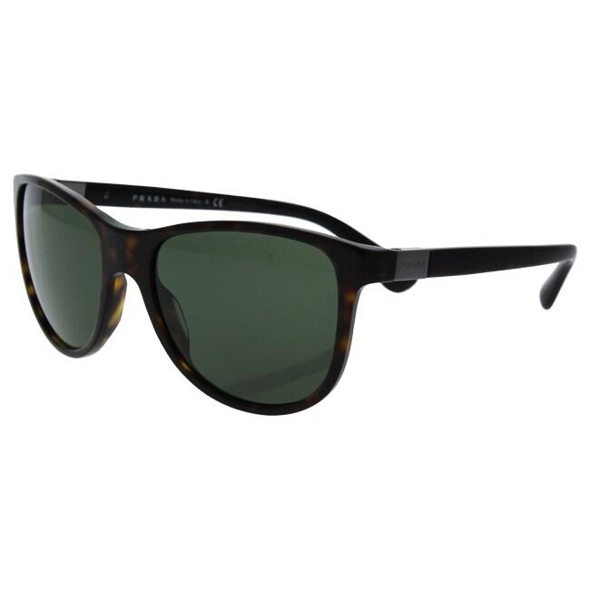 17cf5fde33 ... get shop prada spr 20s 2au 0b2 mens havana green sunglasses free  shipping today overstock 17334906