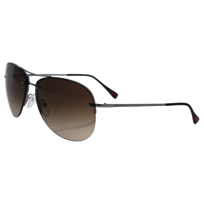 5e66e56a78 ... low price prada sps 50r 5av 6s1 mens brown gradient brown sunglasses  free shipping today overstock