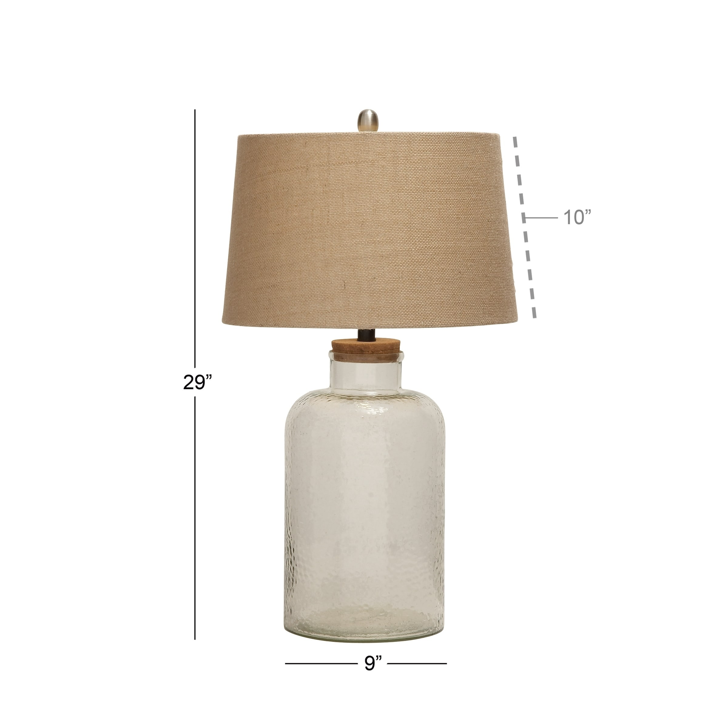 Shop studio 350 set of 2 glass fillable table lamp 29 inches high shop studio 350 set of 2 glass fillable table lamp 29 inches high free shipping today overstock 17338776 aloadofball Image collections