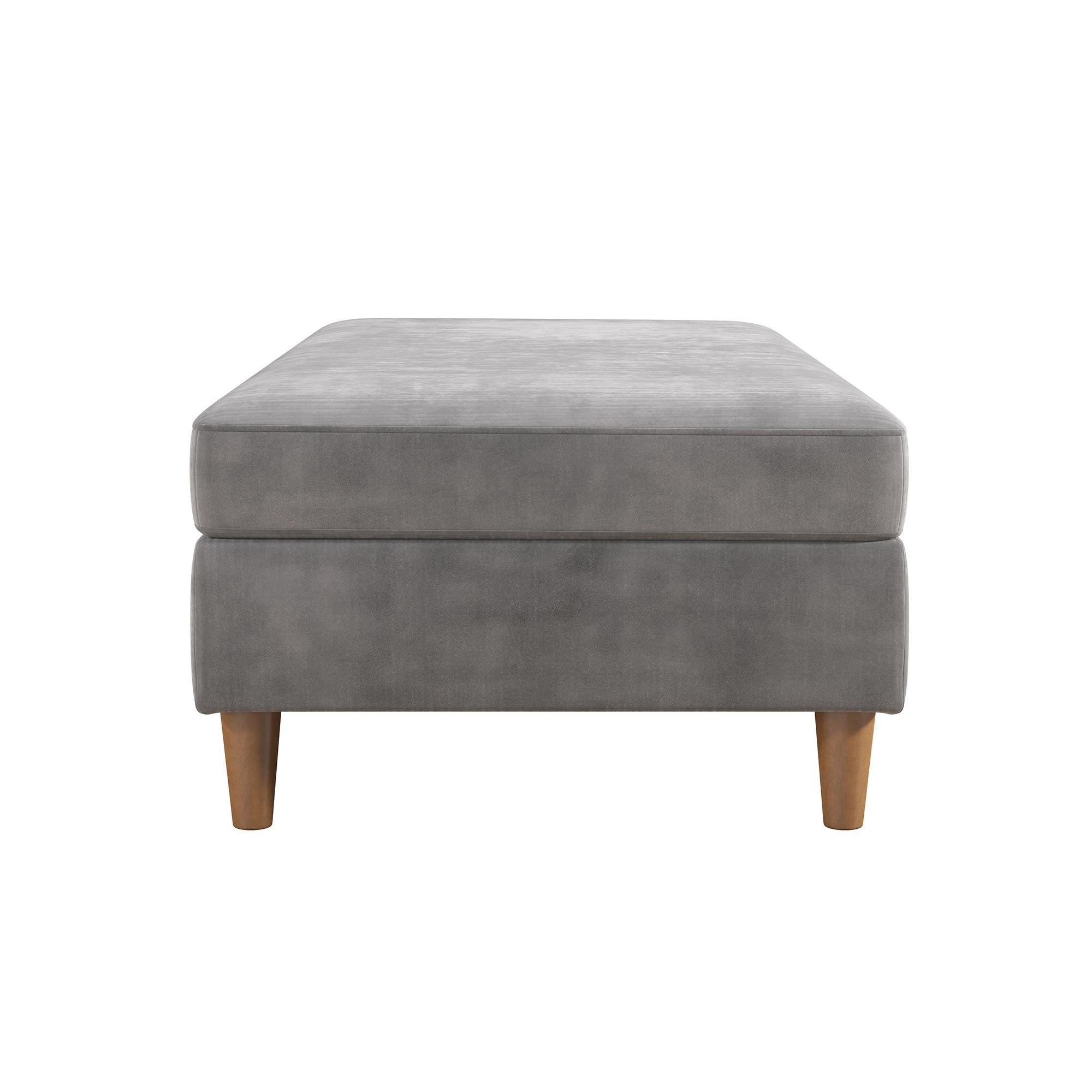 modern tait ottomans blu cleon previous oc ochre dot fabric with futon otooto ottoman image futons