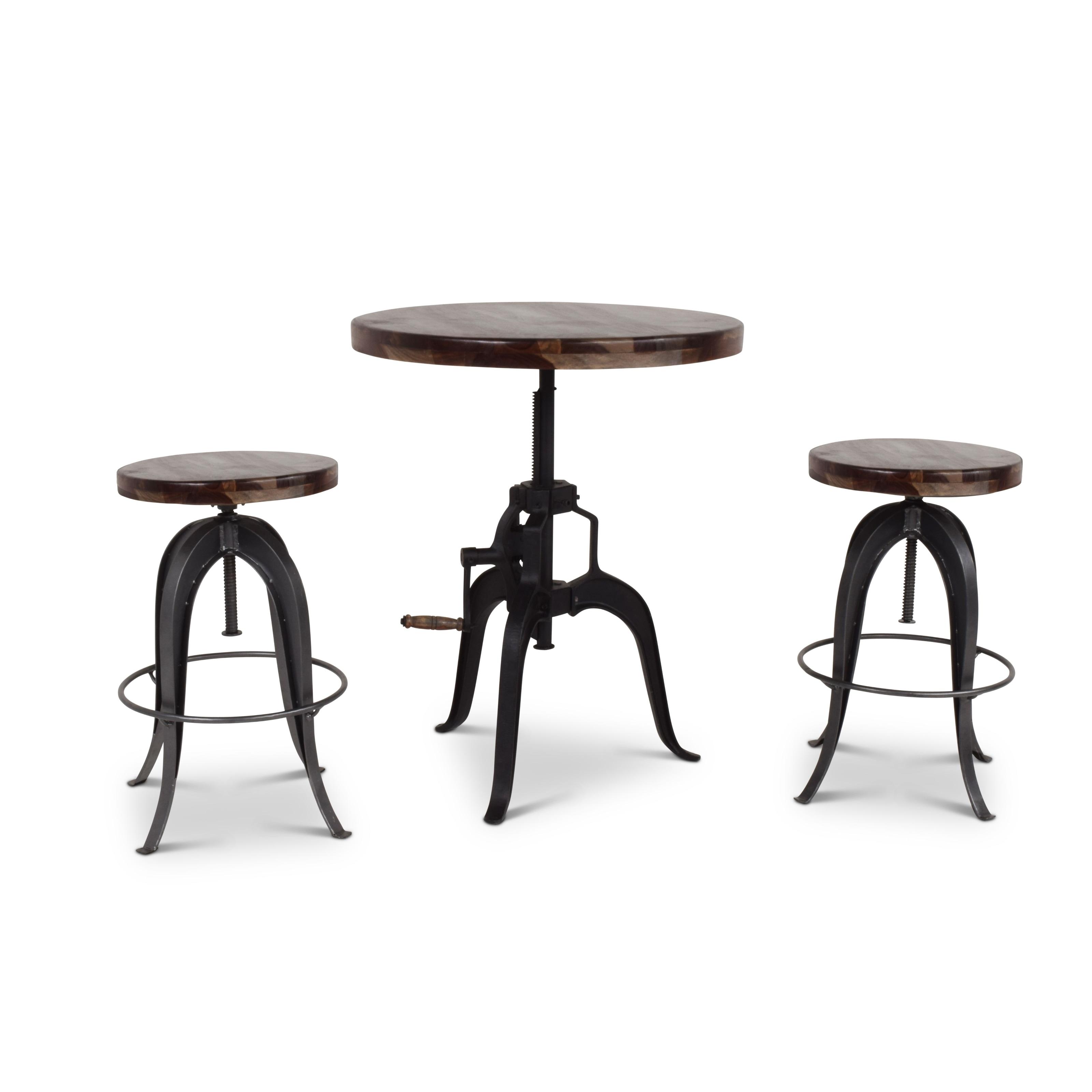 Shop Seoni Adjustable Height Pub Table By Greyson Living Free