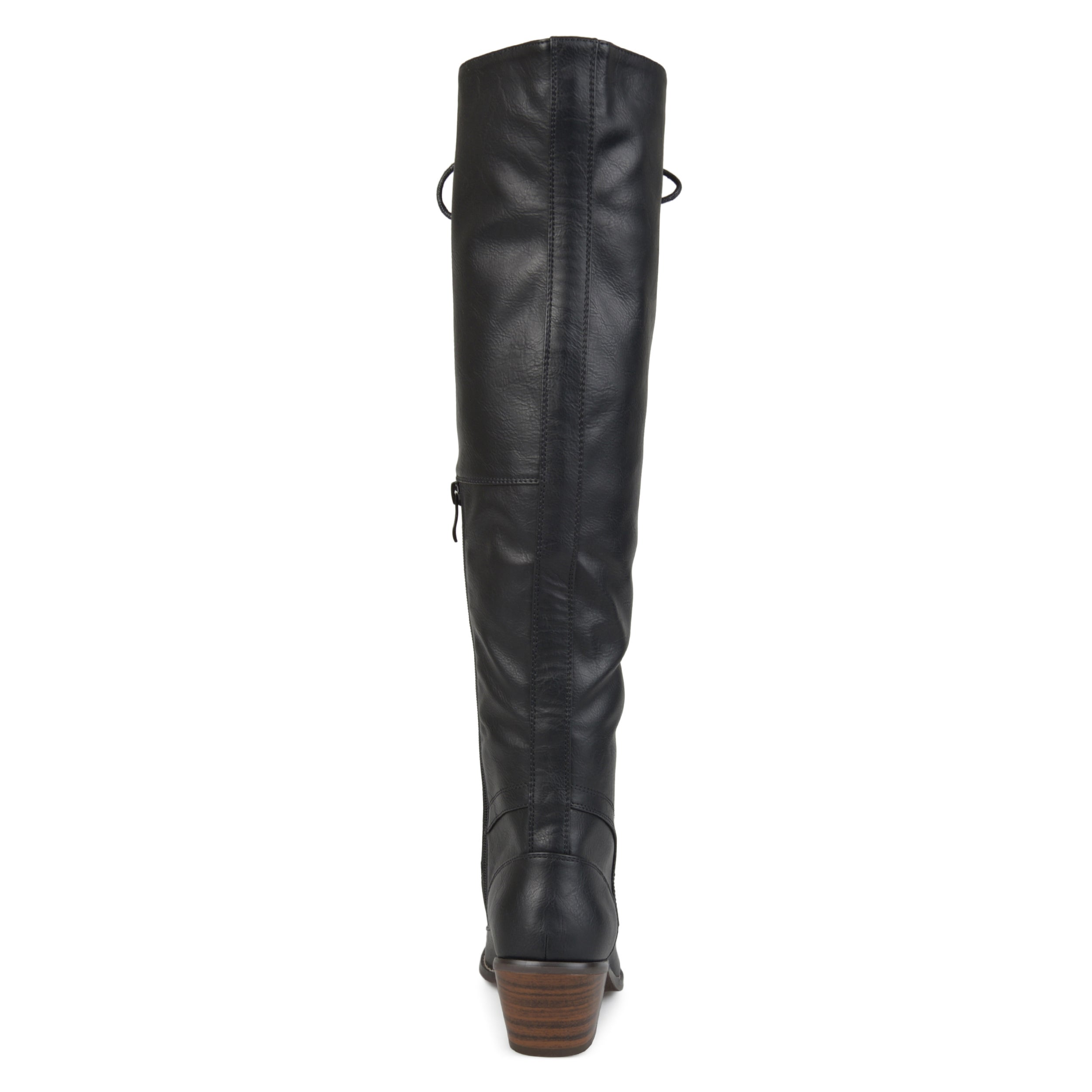 10925ac5327 Journee Collection Women's 'Bazel' Regular and Wide Calf Brogue Lace-up  Over-the-knee Boots