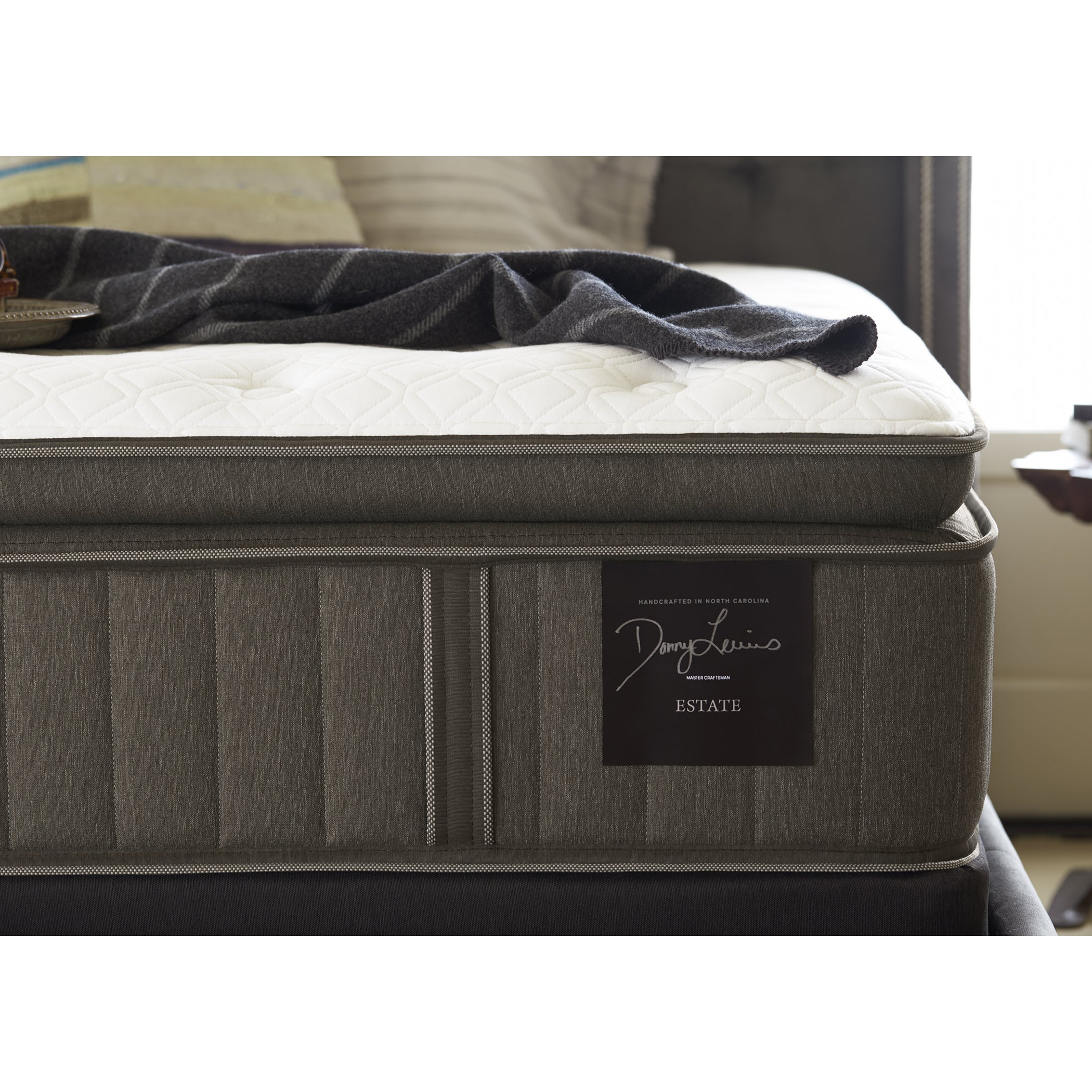 Stearns Foster Scarborough 14 Inch Plush Euro Pillow Top King Size Mattress Free Shipping Today 17352057