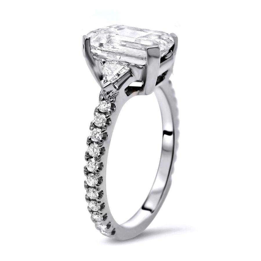 elegant diamond from engagement zenghuabin com gold cut rings trillion party product ring dhgate size real white solid