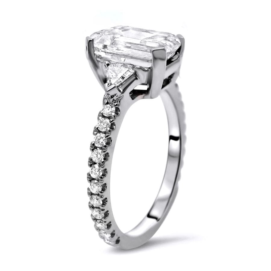 trillion rings diamond ring engagement zoom cut carat listing fullxfull il