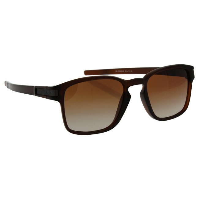 253453a9cc ... coupon code for shop oakley latch square sq oo9353 09 unisexs matte  rootbeer frame dark brown