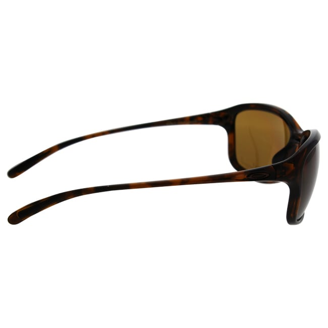 34e31389aa8fa Shop Oakley She s Unstoppable OO9297-02 Women s Tortoise Frame Bronze  Polarized Lens Sunglasses - Ships To Canada - Overstock.ca - 17373080