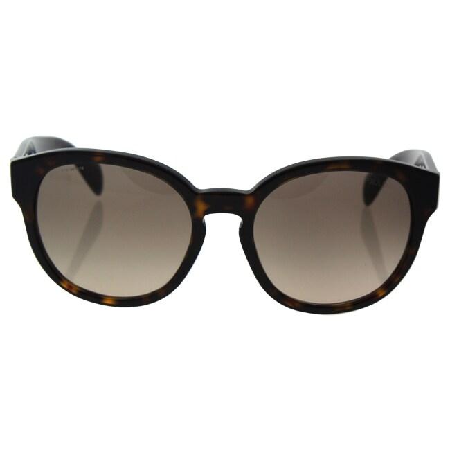 64c67351718db ... where can i buy shop prada spr 18r 2au 3d0 womens havana light brown  gradient lens