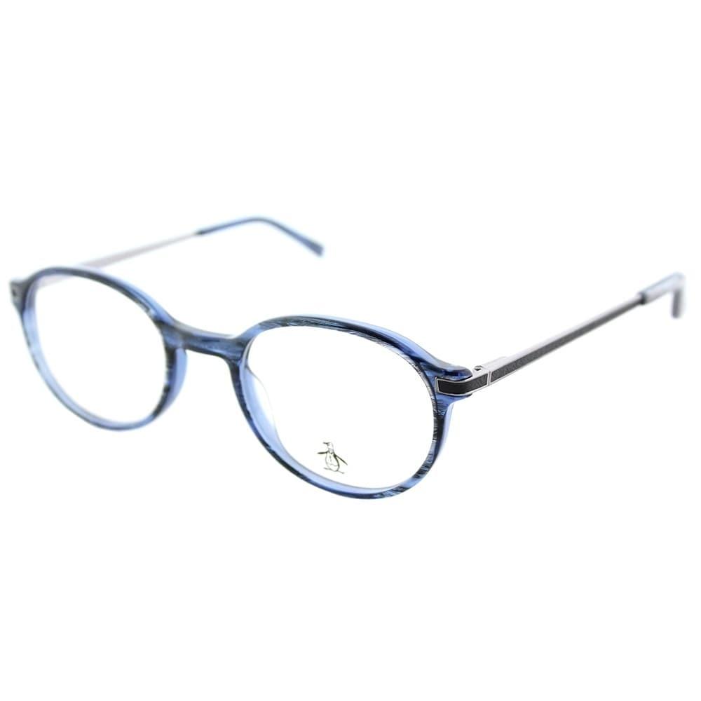 3208bb5ae1c Shop Original Penguin Round The Div NV Unisex Navy Frame Eyeglasses - Free  Shipping Today - Overstock - 17389286