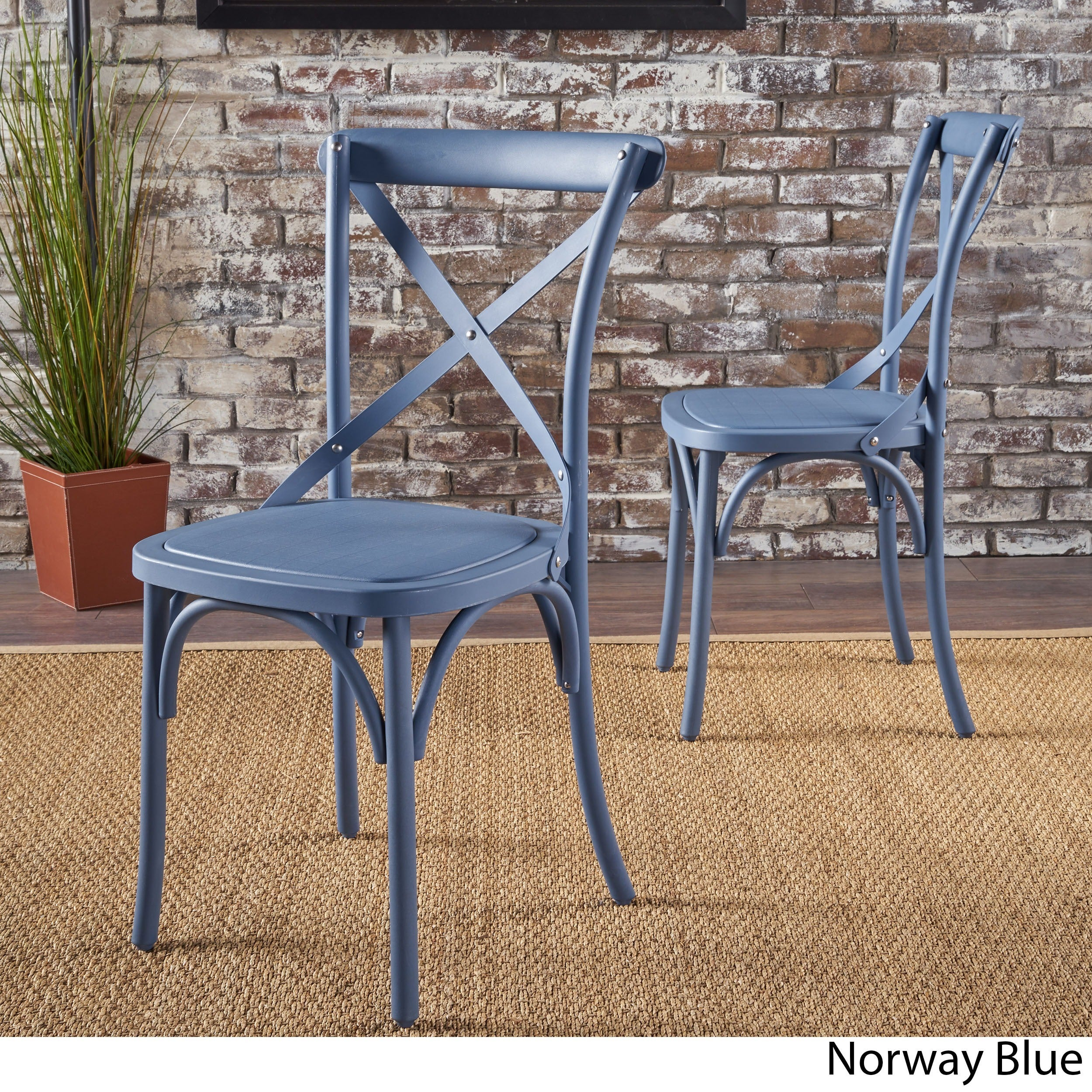 Shiloh Farmhouse Dining Chair Set Of 2 By Christopher Knight Home
