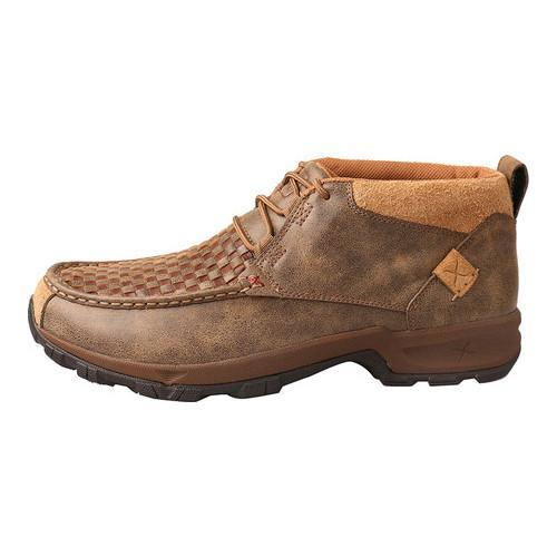 Men's Twisted X Boots MHK0008 Hiker Boot Woven Brown/Bomber Leather - Free  Shipping Today - Overstock.com - 23645150