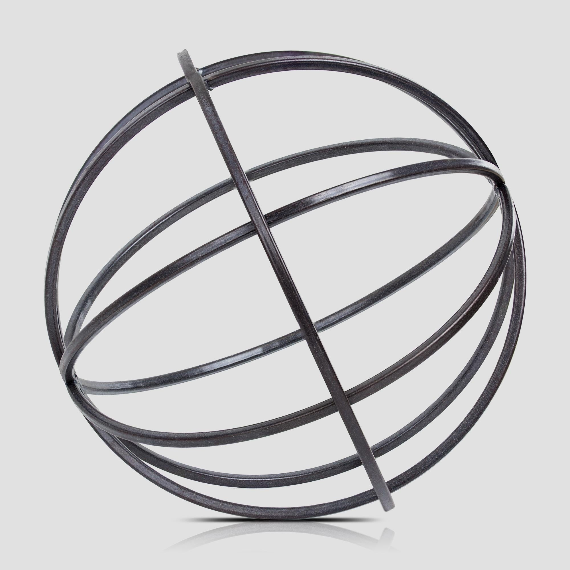 Well-liked Metal Orb Dyson Sphere Decor Sculpture (Large) - Free Shipping On  MV96