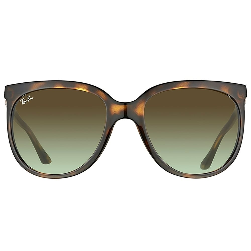 47e3691d7d212 Shop Ray-Ban Cat Eye RB 4126 710 A6 Womens Havana Frame Green Gradient Lens  Sunglasses - On Sale - Free Shipping Today - Overstock - 17431620