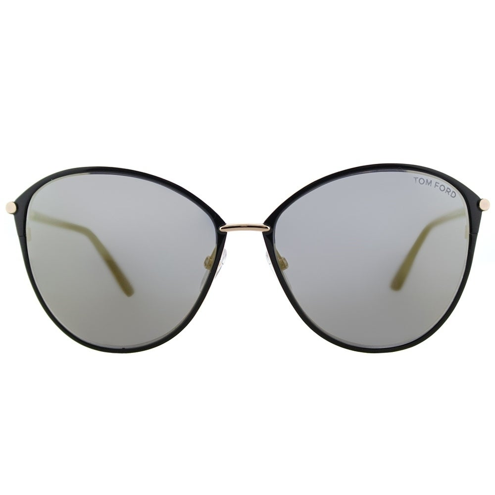 fbe3685c12a25 Shop Tom Ford Cat-Eye TF 320 28C Womens Brown Rose Gold Frame Silver Mirror  Lens Sunglasses - Free Shipping Today - Overstock - 17431634