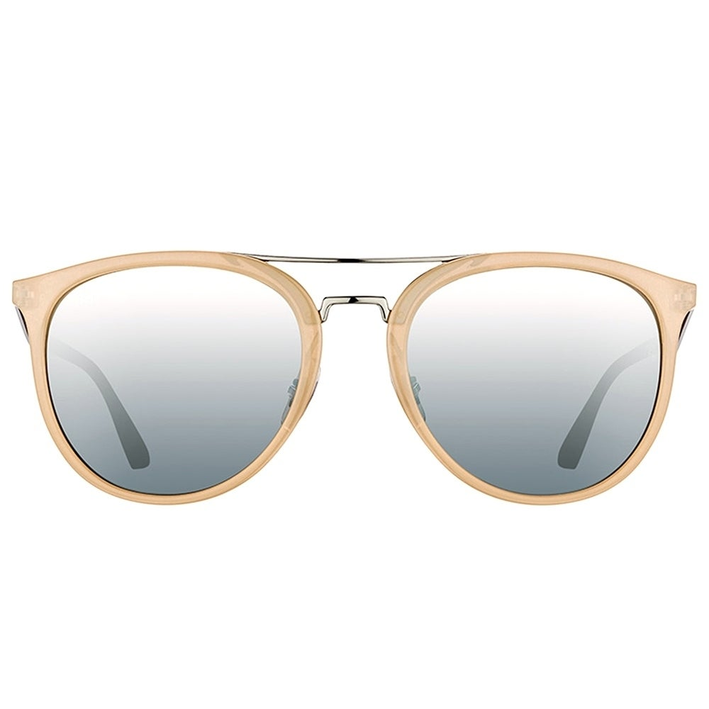 82d1072cc61 Shop Ray-Ban Square RB 4285 616688 Unisex Light Brown Frame Silver Mirror  Lens Sunglasses - Free Shipping Today - Overstock - 17431641