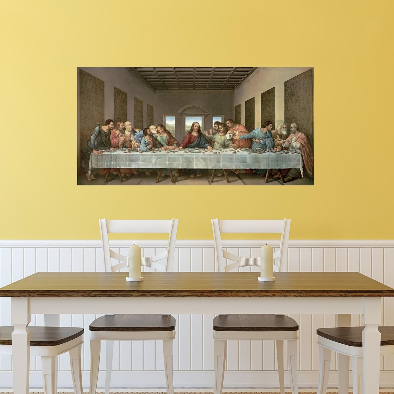 Shop Portfolio Canvas Decor The Last Supper Canvas Wall Art - Free ...