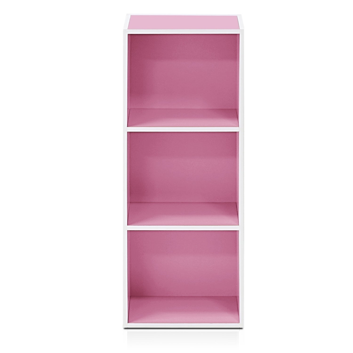 and white book pink home cart kids iris bookcase p tier bookcases depot the