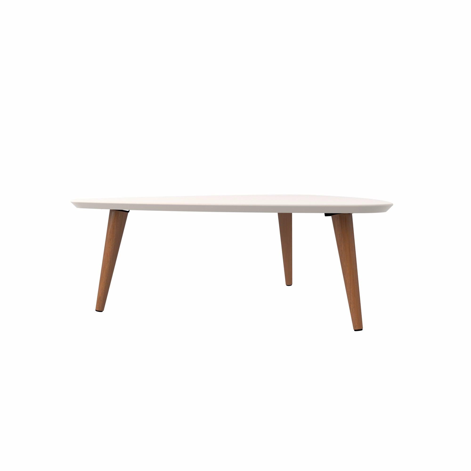"Manhattan fort Utopia 11 81"" High Triangle Coffee Table Free"