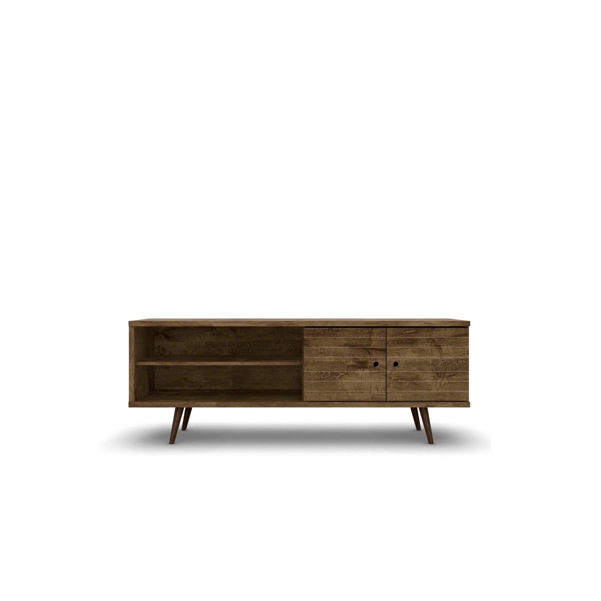 Shop Palm Canyon Bogert Wooden Modern TV Stand   Free Shipping Today    Overstock.com   22751405