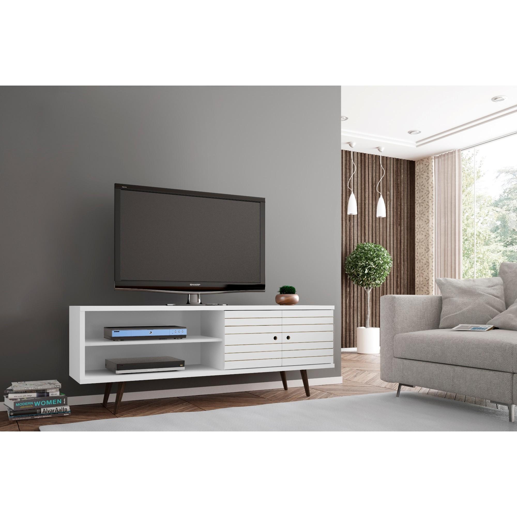 Manhattan Comfort Liberty Wooden Modern TV Stand - Free Shipping ...