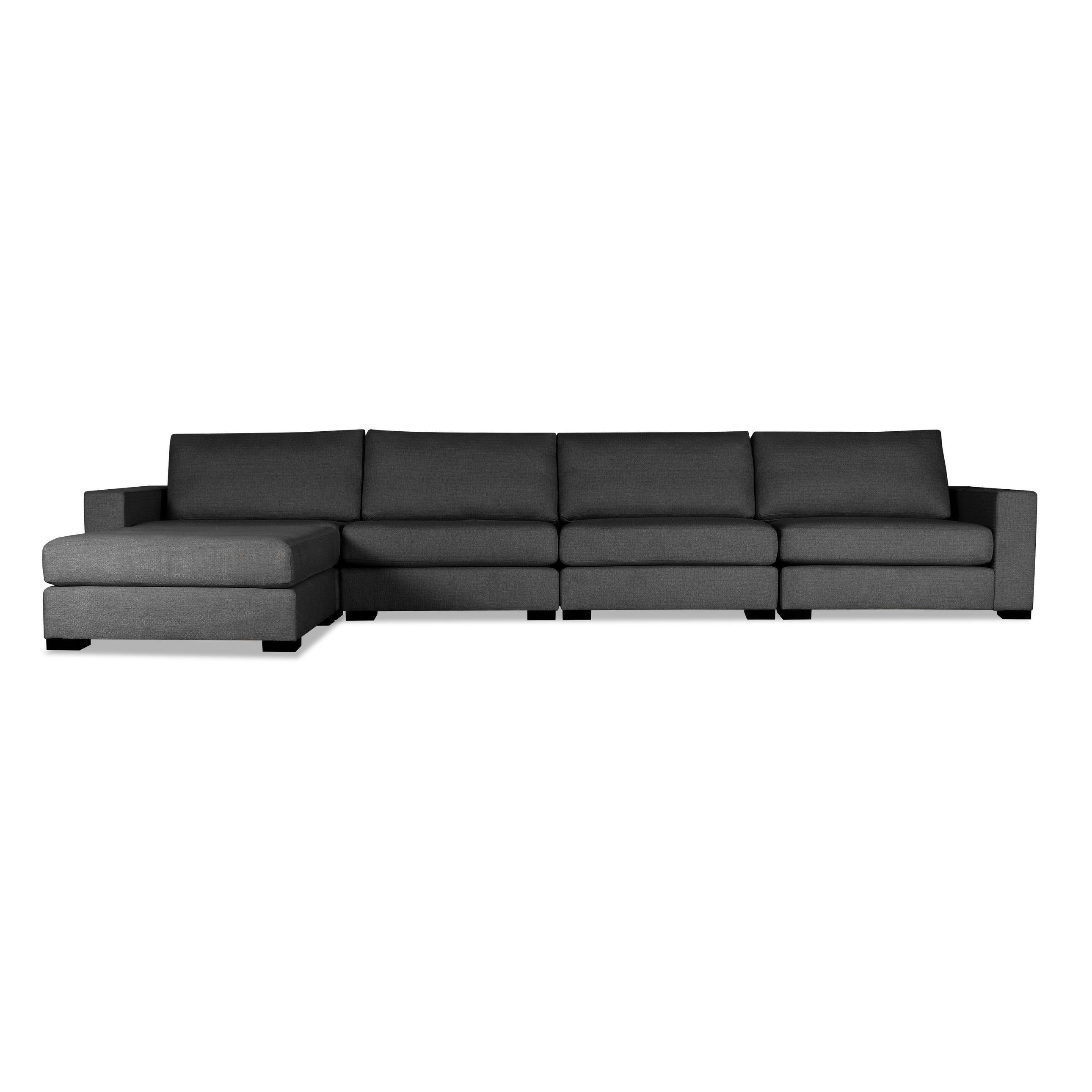 of with chaise left lounge sofa sectional facing contemporary design