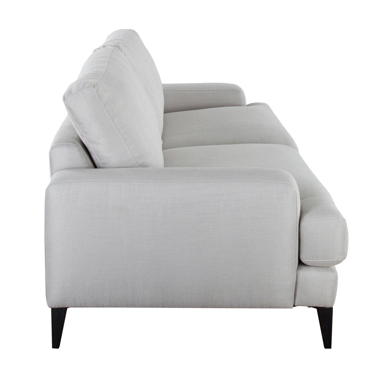 Shop Brighton Grey Upholstered 90 Inch Sofa By Kosas Home Free