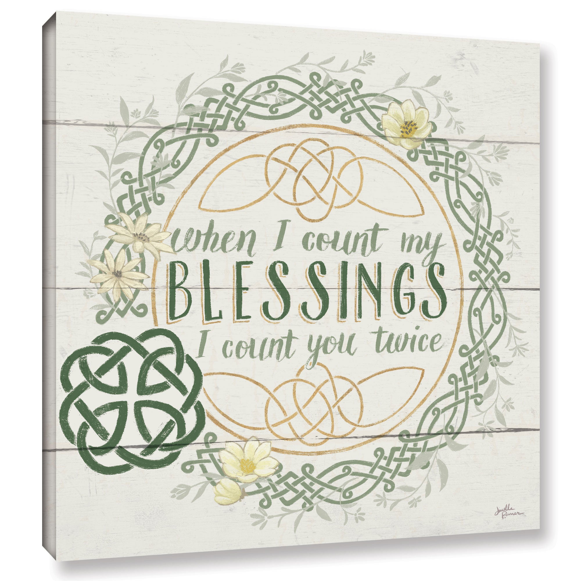 Shop ArtWall Janelle Penner \'Irish Blessing II\' Canvas Gallery ...