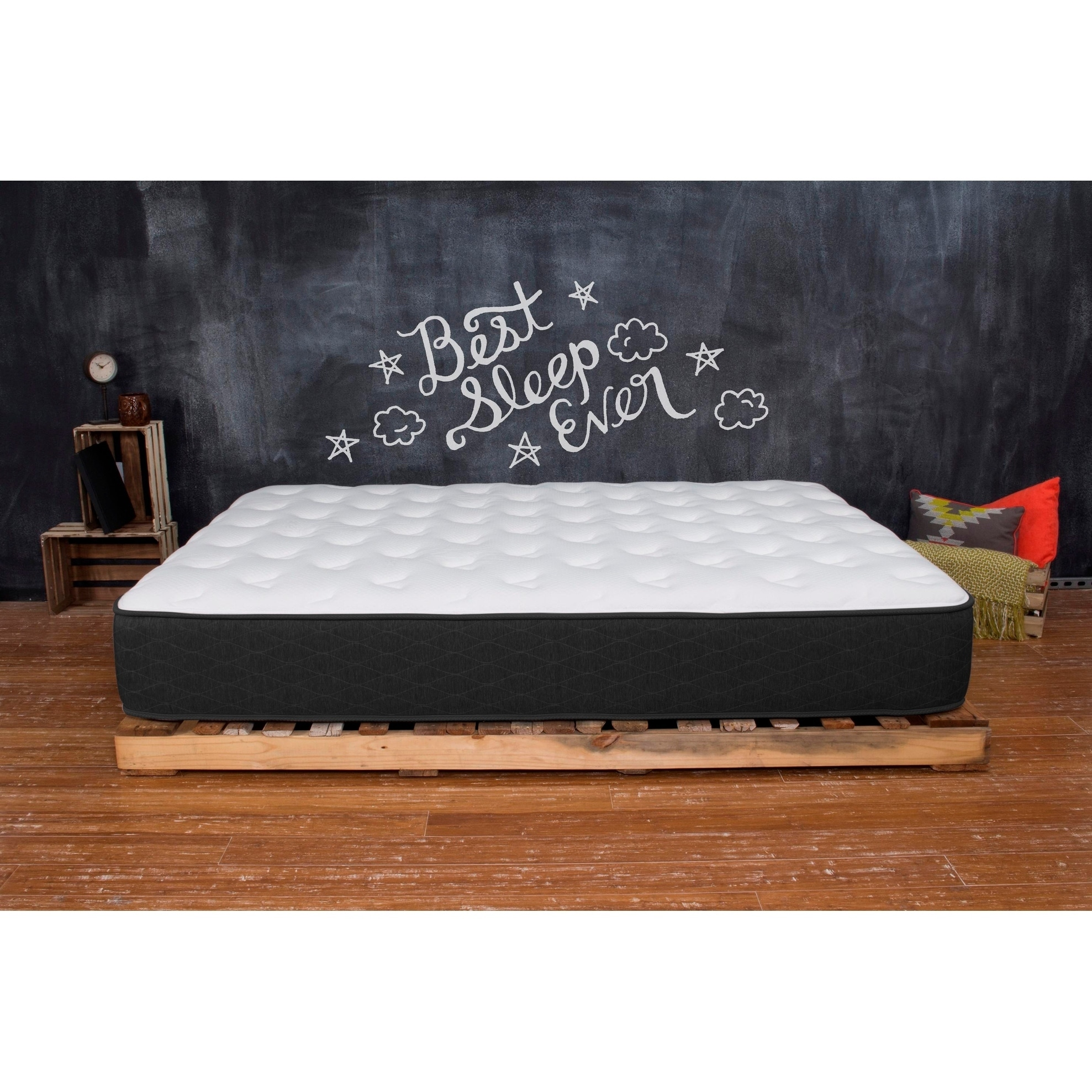 Best Memory Foam Mattress 8 Queen Mattress Plush Bed In A Box Sleep Overstock 17612260