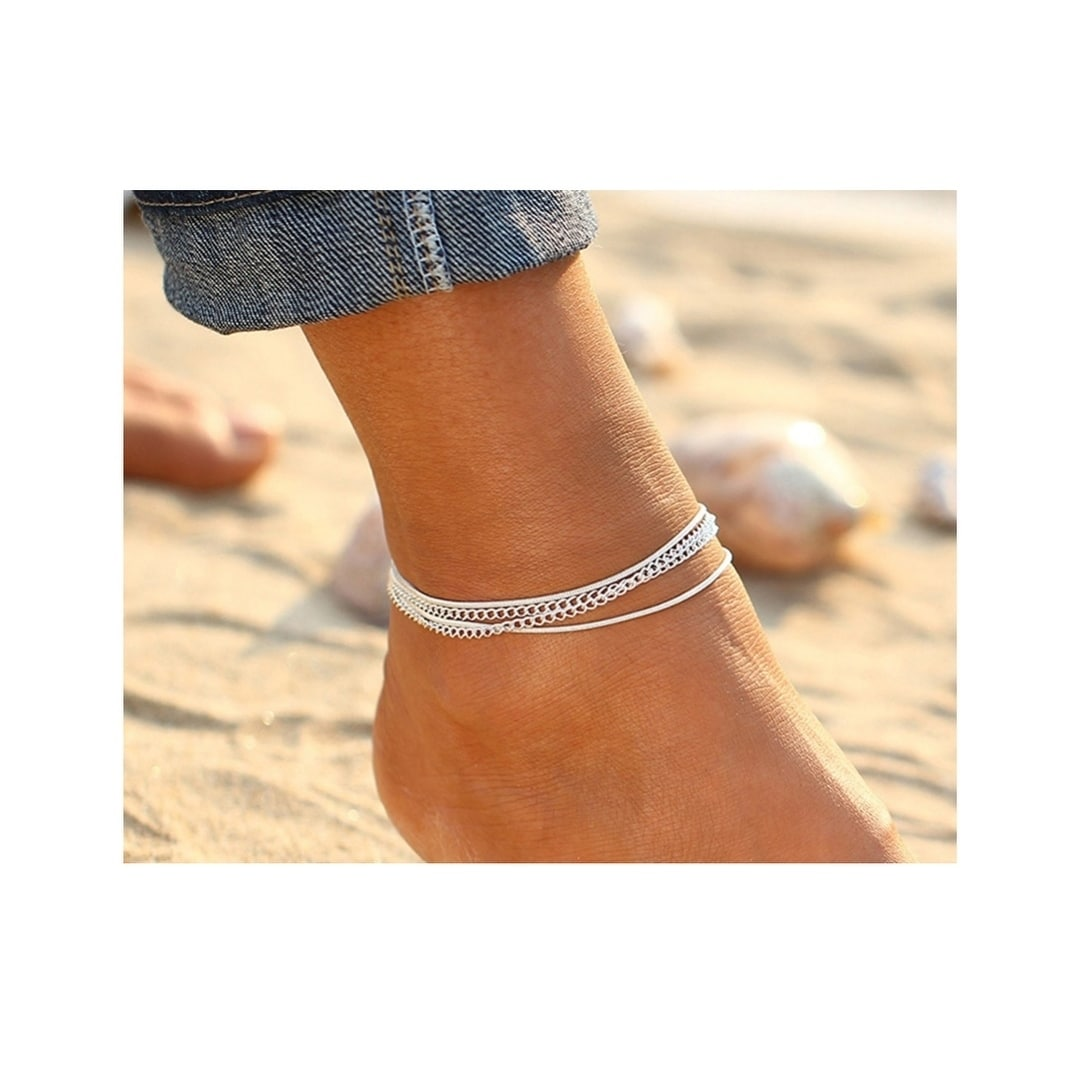 ankle sterling bracelet adjustable pin dolphins anklet silver inches for view to bracelets double further