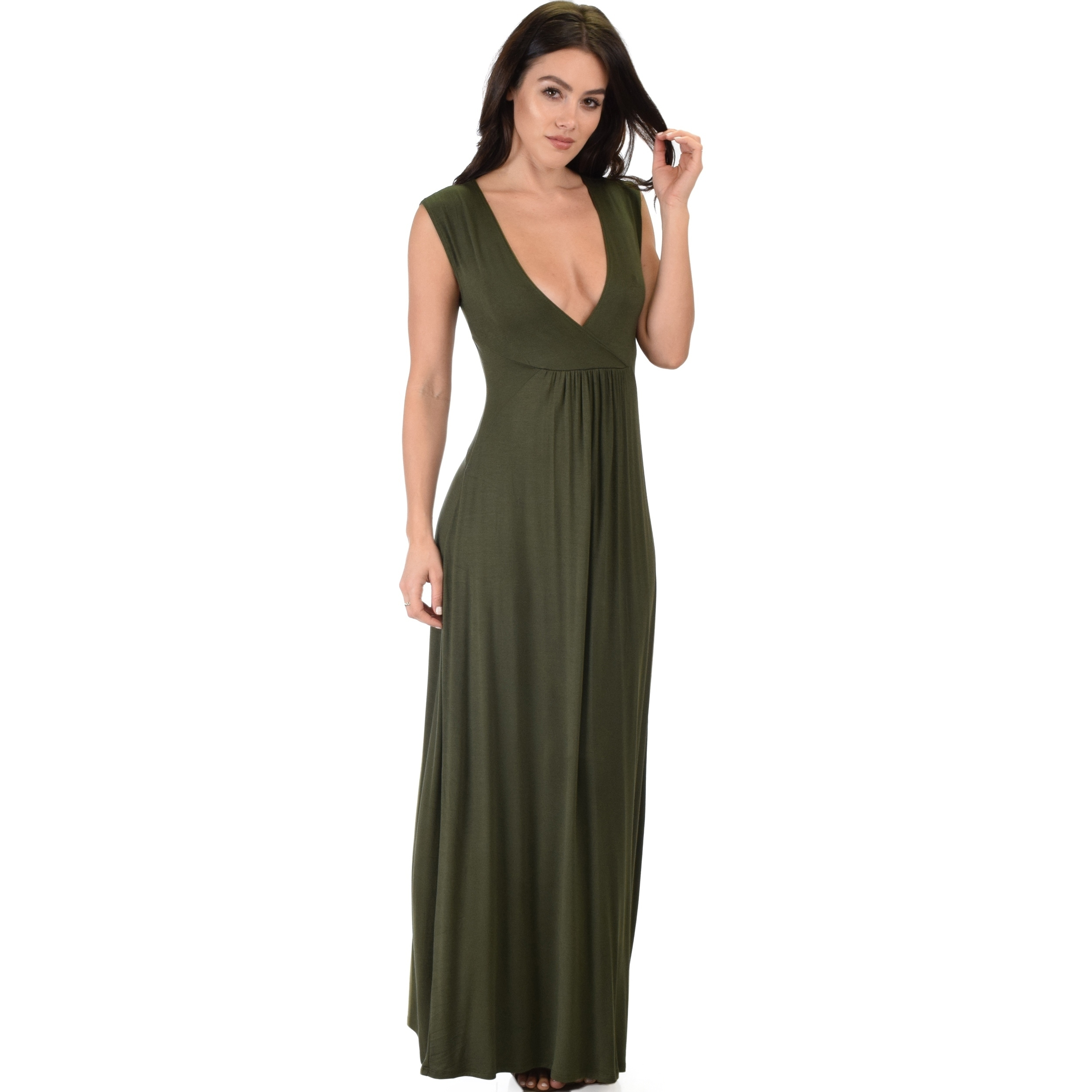 5a38ccf3e1e Shop Lyss Loo Sweetest Kiss Sleeveless Maxi Dress - Free Shipping On Orders  Over  45 - Overstock - 17613730